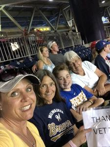 Click To Read More Feedback from Washington Nationals vs. Milwaukee Brewers - MLB