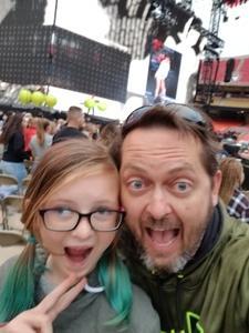Jason attended Taylor Swift Reputation Tour on Sep 8th 2018 via VetTix