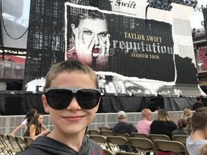 Ashley attended Taylor Swift Reputation Tour on Sep 8th 2018 via VetTix