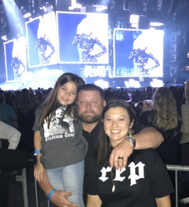 Gavin attended Taylor Swift Reputation Tour on Sep 22nd 2018 via VetTix