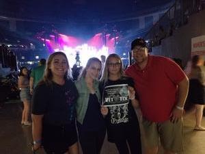 Ryan attended Taylor Swift Reputation Tour on Sep 22nd 2018 via VetTix