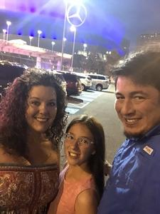 Anthony attended Taylor Swift Reputation Tour on Sep 22nd 2018 via VetTix