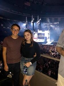 James attended Taylor Swift Reputation Tour on Sep 22nd 2018 via VetTix