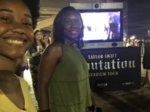 Tearria attended Taylor Swift Reputation Tour on Sep 22nd 2018 via VetTix