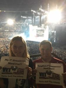 David attended Taylor Swift Reputation Tour on Sep 22nd 2018 via VetTix