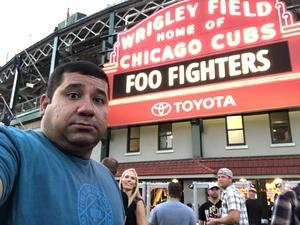 Julio attended Foo Fighters on Jul 30th 2018 via VetTix
