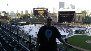 PAUL attended Foo Fighters on Jul 30th 2018 via VetTix