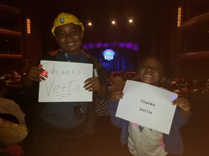 Nik Johnson attended Paw Patrol Live! The Great Pirate Adventure - Presented by Vstar Entertainment on Aug 12th 2018 via VetTix