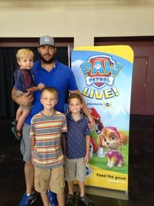 Troy attended Paw Patrol Live! Race to the Rescue - Presented by Vstar Entertainment on Aug 15th 2018 via VetTix