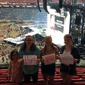 Jennifer attended Taylor Swift Reputation Tour on Sep 29th 2018 via VetTix