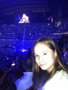 John attended Taylor Swift Reputation Tour on Sep 29th 2018 via VetTix