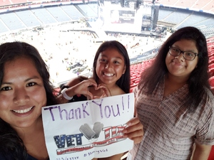 Flor Brewster attended Taylor Swift Reputation Tour on Sep 29th 2018 via VetTix
