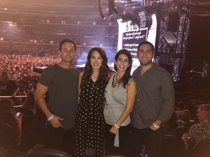Dave attended Taylor Swift Reputation Tour on Oct 5th 2018 via VetTix