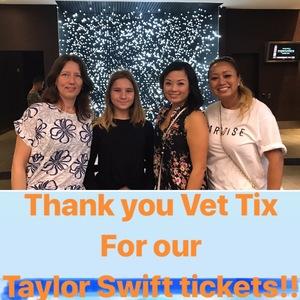 Michael attended Taylor Swift Reputation Tour on Oct 5th 2018 via VetTix