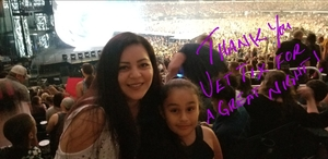 Watson Family attended Taylor Swift Reputation Tour on Oct 5th 2018 via VetTix