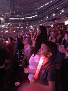 John-Robert attended Taylor Swift Reputation Tour on Oct 5th 2018 via VetTix