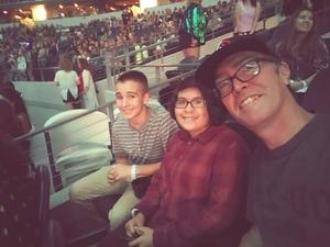 Michael attended Taylor Swift Reputation Tour on Oct 6th 2018 via VetTix
