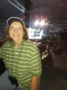 Kris attended Taylor Swift Reputation Tour on Oct 6th 2018 via VetTix