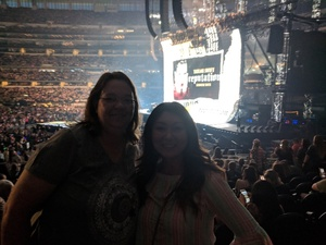 Amy attended Taylor Swift Reputation Tour on Oct 6th 2018 via VetTix
