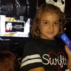 Danny attended Taylor Swift Reputation Tour on Oct 6th 2018 via VetTix