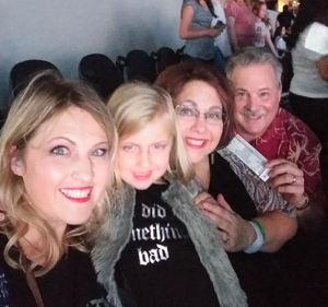 F. Michael attended Taylor Swift Reputation Tour on Oct 6th 2018 via VetTix
