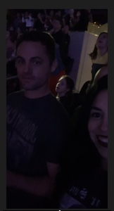 Aaron attended Taylor Swift Reputation Tour on Oct 6th 2018 via VetTix