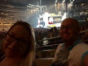 Bradley attended Taylor Swift Reputation Tour on Oct 6th 2018 via VetTix