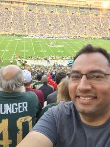 Ruben attended Green Bay Packers vs. Tennessee Titans - NFL Preseason on Aug 9th 2018 via VetTix