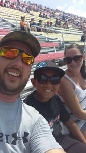 Matthew attended Michigan International Speedway: Consumers Energy 400 on Aug 12th 2018 via VetTix