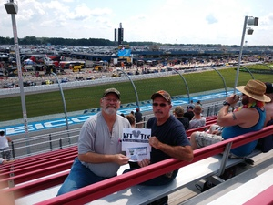 Jay Butler attended Michigan International Speedway: Consumers Energy 400 on Aug 12th 2018 via VetTix