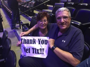 Randolph attended Foreigner @ Pepsi Center on Jul 24th 2018 via VetTix