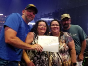 Barton attended Foreigner @ Pepsi Center on Jul 24th 2018 via VetTix