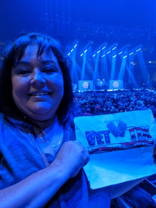 Rose attended Foreigner @ Pepsi Center on Jul 24th 2018 via VetTix