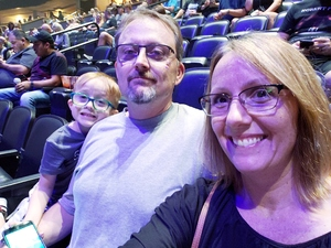 Bernadette attended Foreigner @ Pepsi Center on Jul 24th 2018 via VetTix
