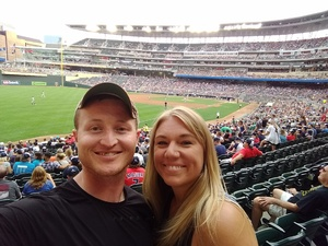 Brandon attended Minnesota Twins vs. Pittsburgh Pirates - MLB on Aug 14th 2018 via VetTix
