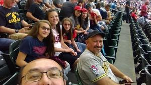 Michael attended Minnesota Twins vs. Pittsburgh Pirates - MLB on Aug 14th 2018 via VetTix