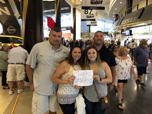 Michael Sica attended Rod Stewart With Cyndi Lauper on Aug 1st 2018 via VetTix