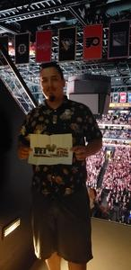 Andres attended Rod Stewart With Cyndi Lauper on Aug 1st 2018 via VetTix