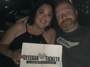 Rick attended Rod Stewart With Cyndi Lauper on Aug 1st 2018 via VetTix