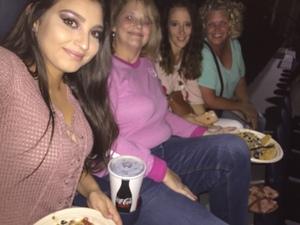 Jennifer attended Rod Stewart With Cyndi Lauper on Aug 1st 2018 via VetTix