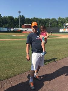 thomas attended Bowie Baysox vs. Erie SeaWolves - MiLB on Aug 26th 2018 via VetTix