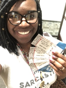 Assata attended Bring It! Live on Aug 3rd 2018 via VetTix