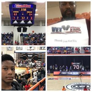 Roland attended The Basketball Tournament - Championship on Aug 3rd 2018 via VetTix