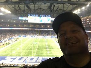 Jeffrey attended Detroit Lions vs. Cleveland Browns - NFL Preseason on Aug 30th 2018 via VetTix