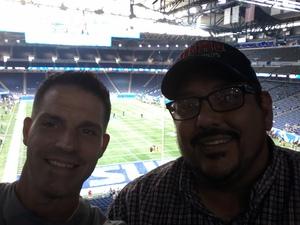 Rocky attended Detroit Lions vs. Cleveland Browns - NFL Preseason on Aug 30th 2018 via VetTix