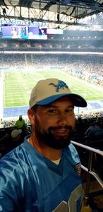 Christopher attended Detroit Lions vs. Cleveland Browns - NFL Preseason on Aug 30th 2018 via VetTix