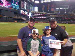 Click To Read More Feedback from Arizona Diamondbacks vs. Philadelphia Phillies - MLB