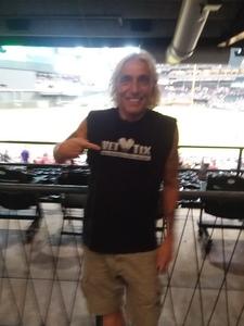 Chuck attended Arizona Diamondbacks vs. Philadelphia Phillies - MLB on Aug 8th 2018 via VetTix