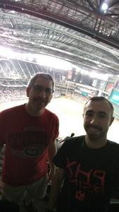 Joseph attended Arizona Diamondbacks vs. Atlanta Braves - MLB on Sep 6th 2018 via VetTix