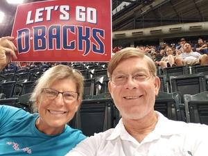Jay attended Arizona Diamondbacks vs. Atlanta Braves - MLB on Sep 6th 2018 via VetTix